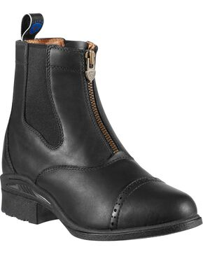 Ariat Women's Devon Pro VX Paddock Boots, Black, hi-res