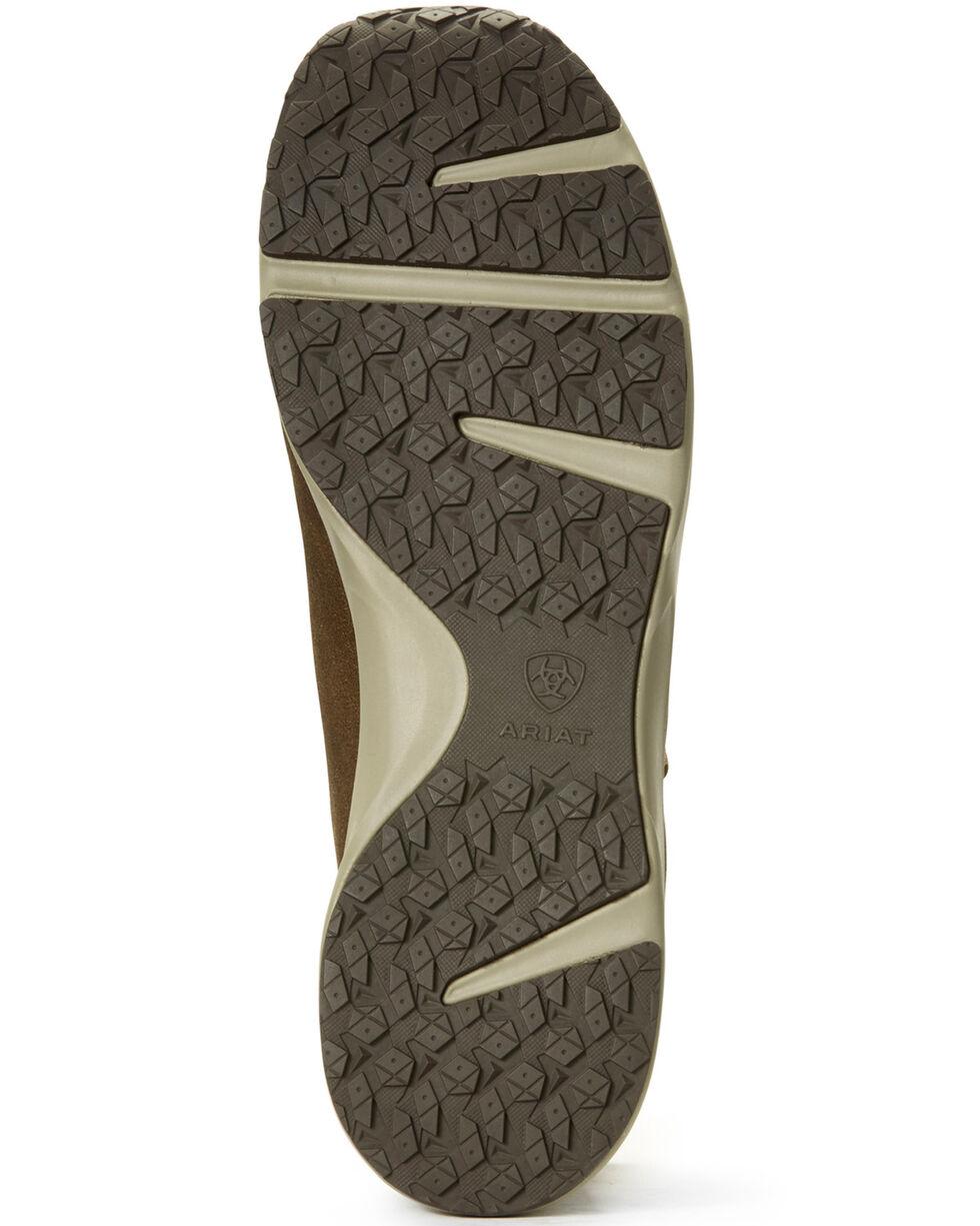 Ariat Men's Spitfire Patriot Camo Print Lace-Up Boots - Moc Toe, Brown, hi-res