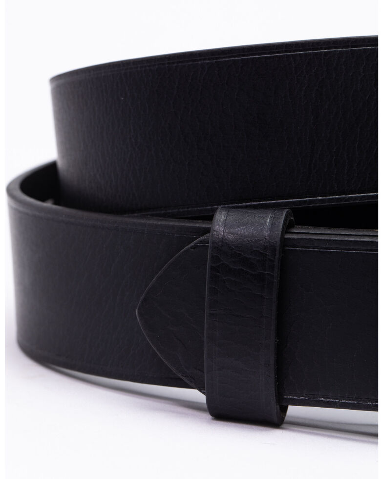 Hawx® Men's Heat Crease Belt, Black, hi-res