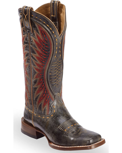 Ariat Women's Vaquera Western Boots, Black, hi-res