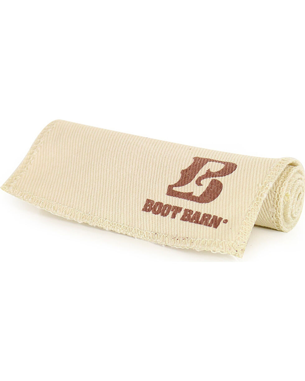 Boot Barn® Boot and Shoe Shine Cloth, White, hi-res