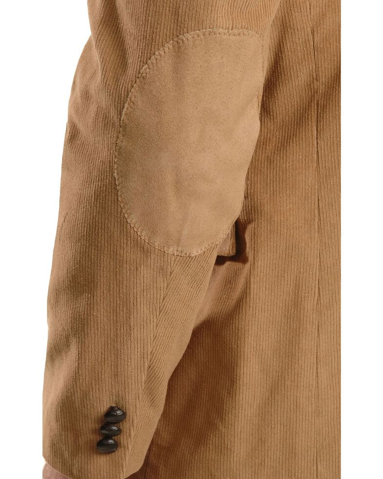 Circle S Men's Corduroy Sport Coat, Camel, hi-res