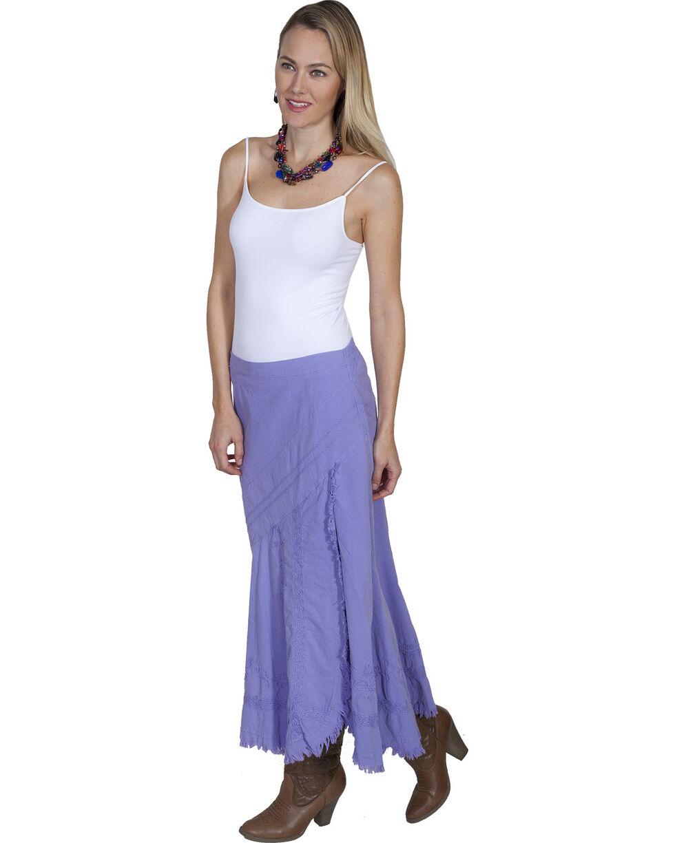 Scully Women's Soutache Skirt, Violet, hi-res