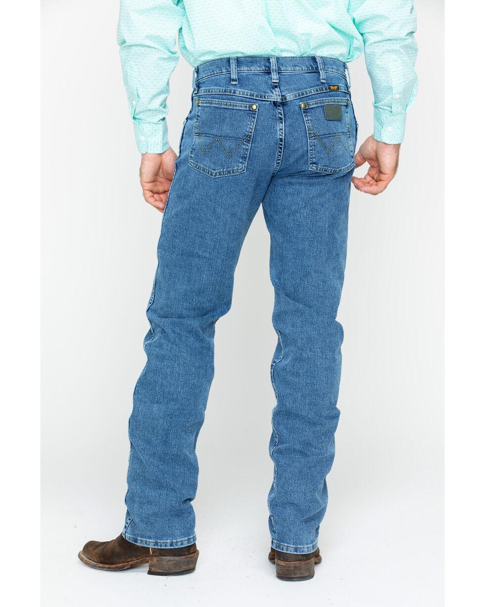 Wrangler George Strait Men's Regular Fit Boot Cut Jeans, Blue, hi-res