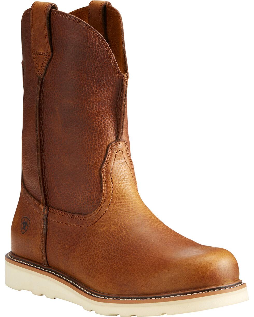 Ariat Men's Rambler Recon Western Boots, Brown, hi-res