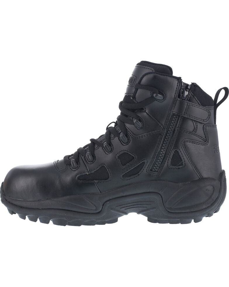 Reebok Men S Stealth 6 Quot Lace Up Side Zip Work Boots