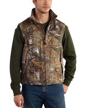 Carhartt Men's Realtree Xtra Camo Quick Duck Vest - Big & Tall , Camouflage, hi-res