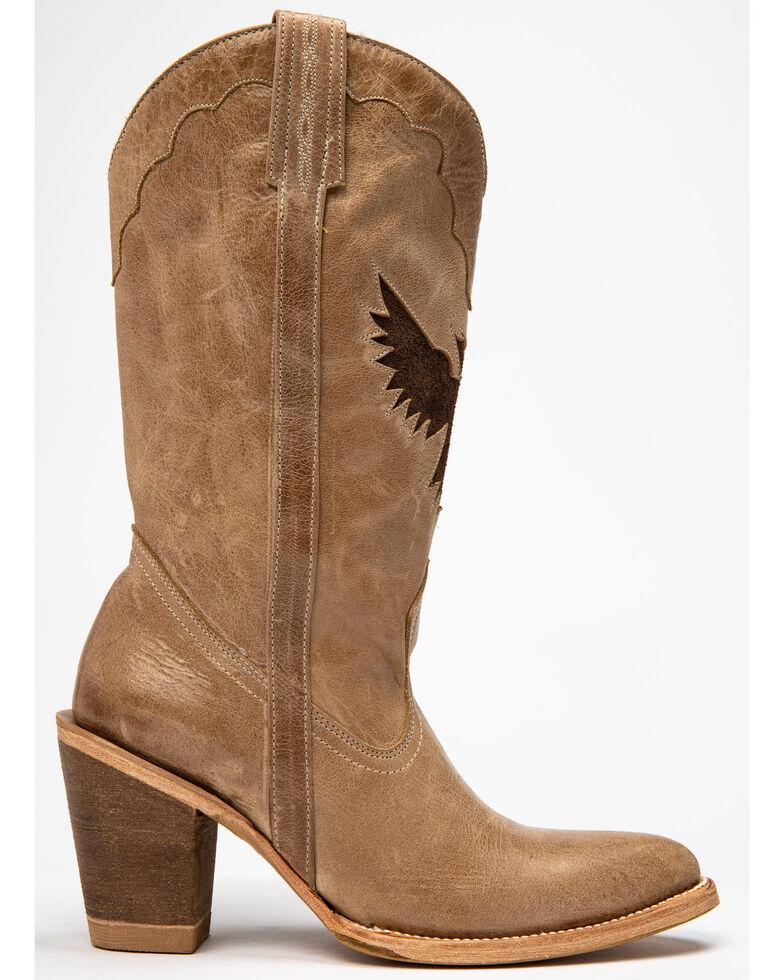 Idyllwind Women's Vigilante Western Boots - Round Toe, Ivory, hi-res