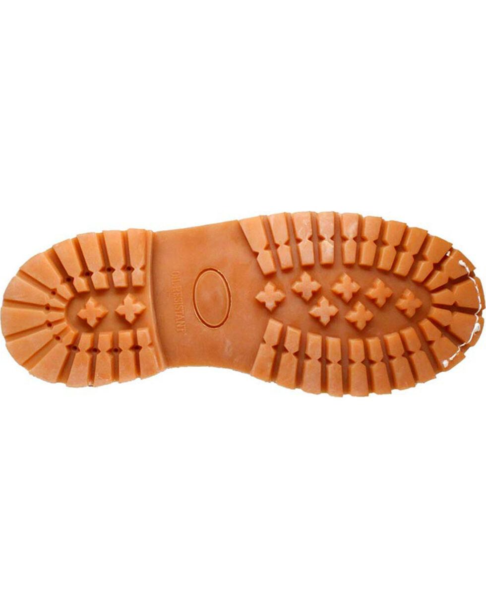 "Ad Tec Boy's 6"" Waterproof Nubuck Leather Work Boots, Tan, hi-res"