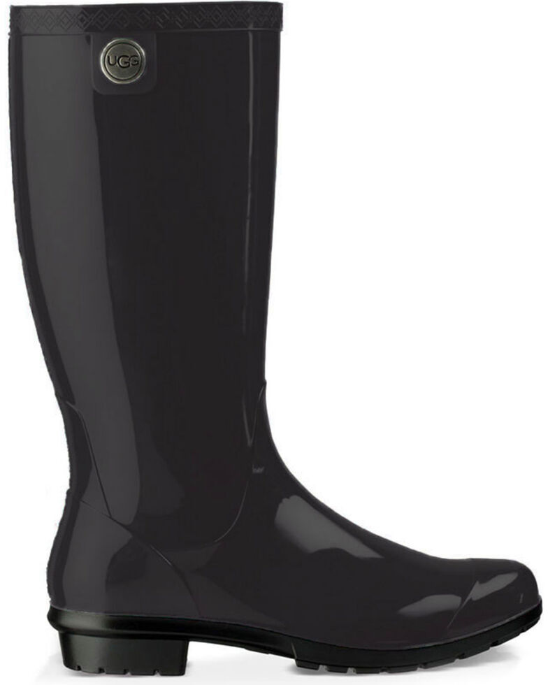 ea6b1617a1d UGG Women's Black Shaye Boots - Round Toe