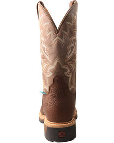 Twisted X Men's Lite Cowboy Western Work Boots - Composite Toe, Brown, hi-res