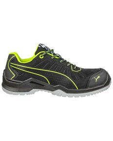 Puma Men's Fuse Safety Shoes - Round Toe, Black, hi-res
