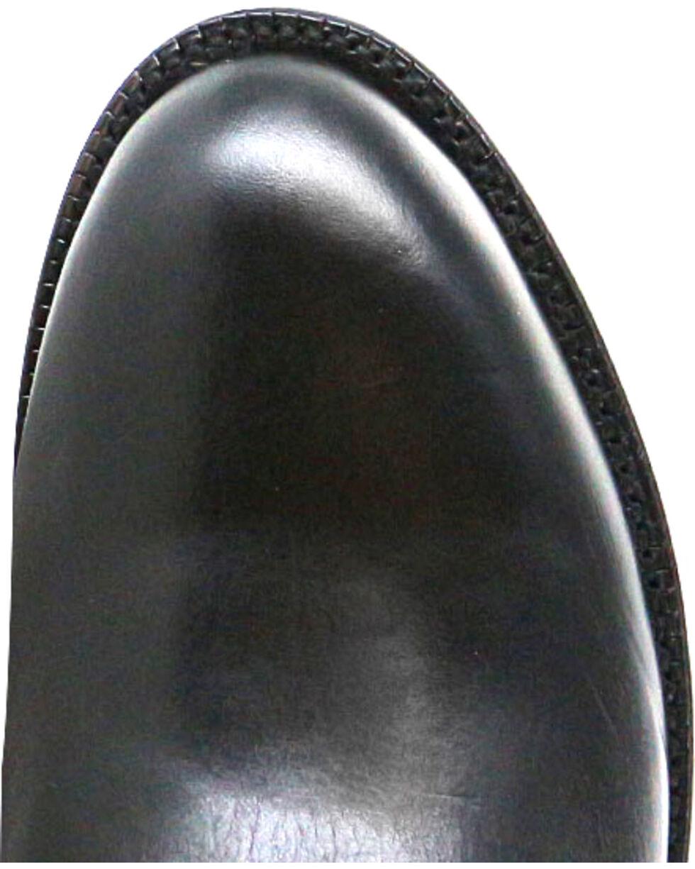 El Dorado Men's Embroidered Western Boots, Black, hi-res