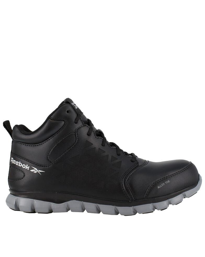 Reebok Women's Sublite Work Shoes - Alloy Toe, Black, hi-res