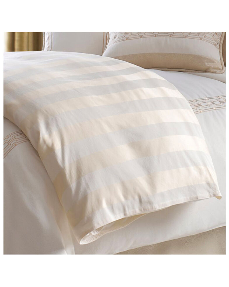 HiEnd Accents King Hollywood Duvet , Cream, hi-res
