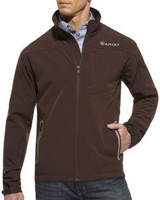 Ariat Vernon Softshell Jacket, Coffee, hi-res