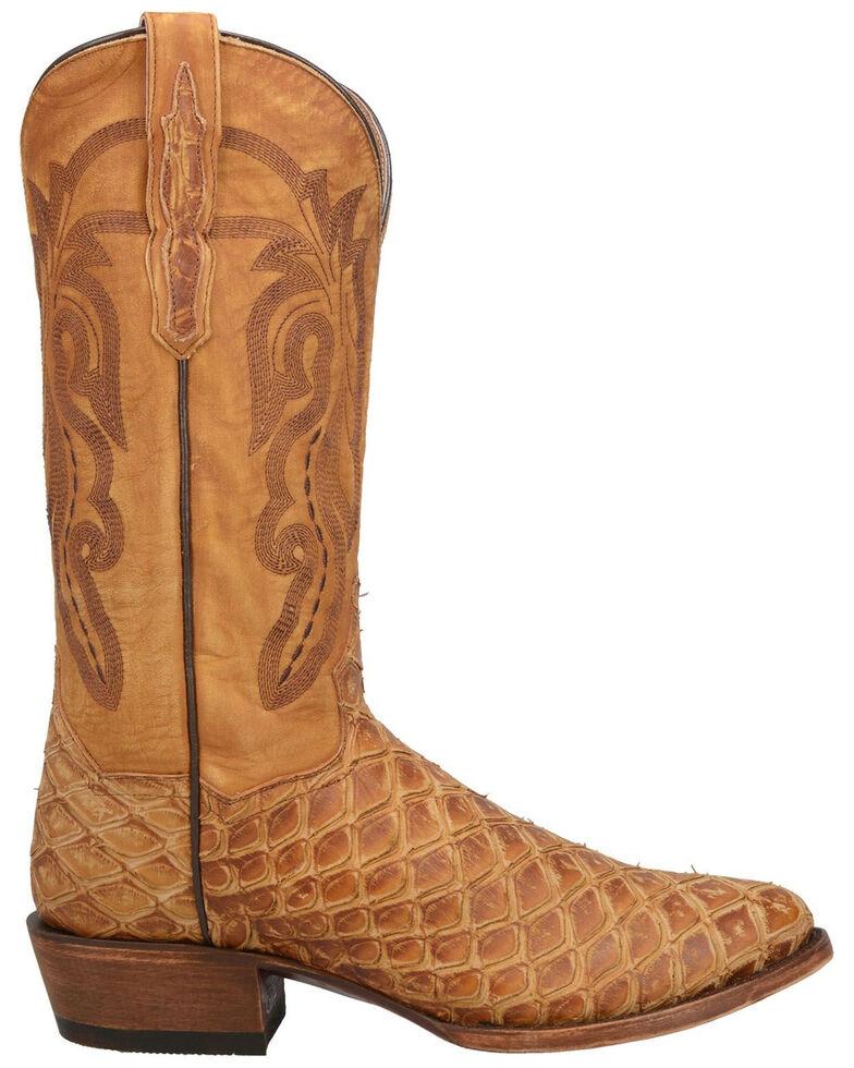 Dan Post Men's Kingman Western Boots - Round Toe, Tan, hi-res