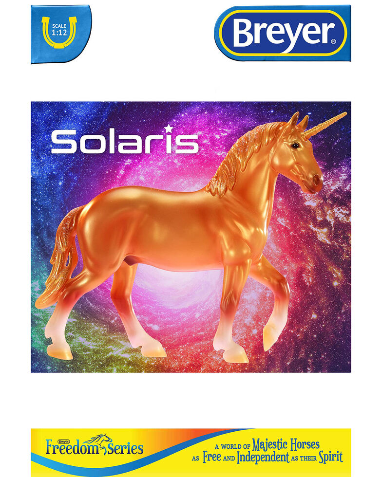 Breyer Solaris Unicorn Model, No Color, hi-res