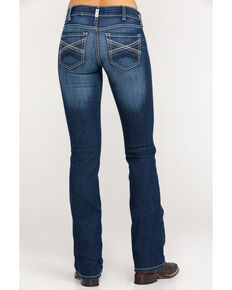 Ariat Women's R.E.A.L. Margot Straight Leg Jeans, Blue, hi-res