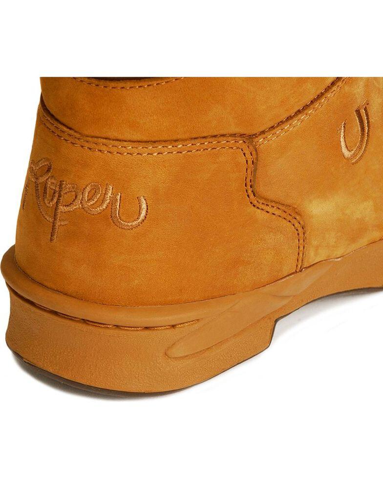 Roper Footwear Men's Horseshoe Kiltie Boots, Amber Brn, hi-res