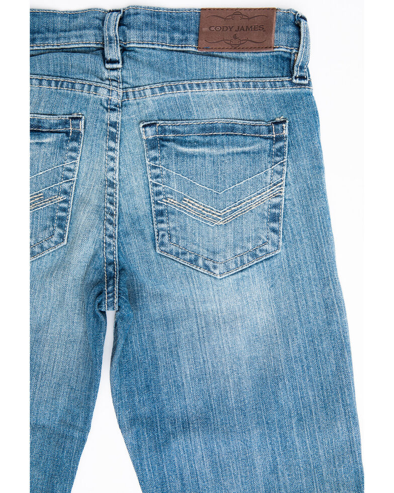 Cody James Boys 4-8 Crupper Light Stretch Slim Boot Jeans , Blue, hi-res
