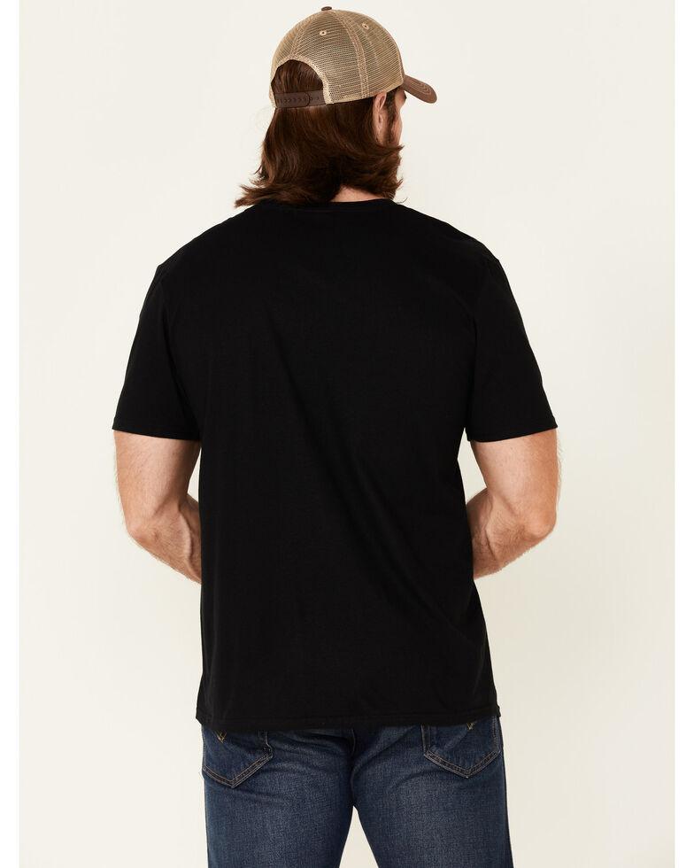 Moonshine Spirit Men's Save Water Graphic Short Sleeve T-Shirt, Black, hi-res