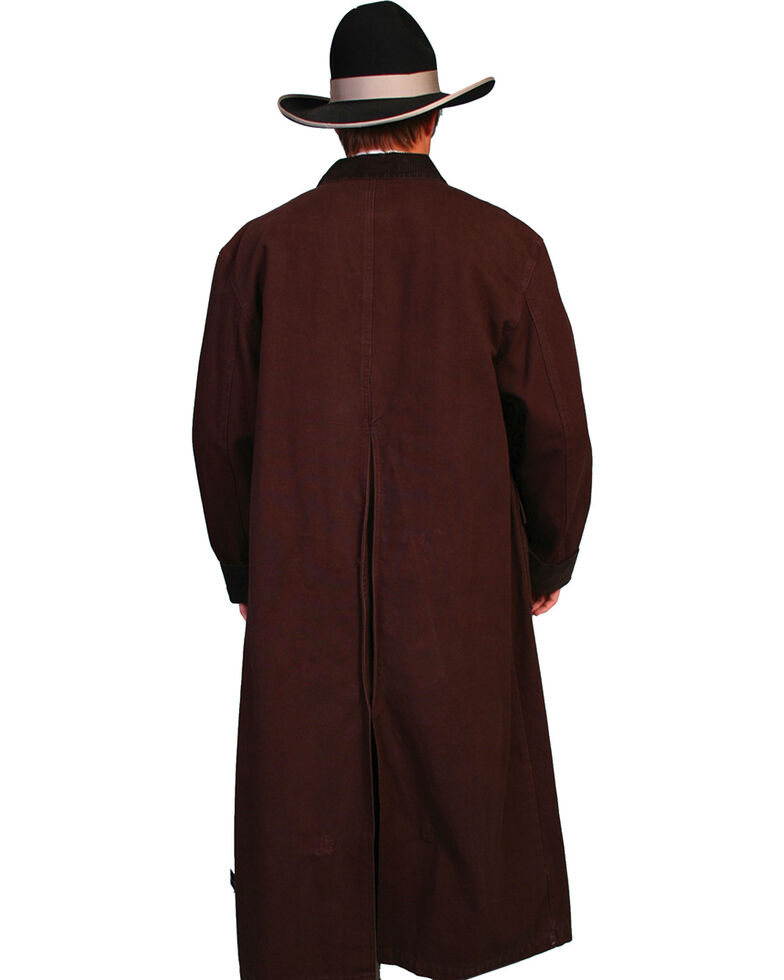 59a8c6b00 Scully Men's Authentic Canvas Duster