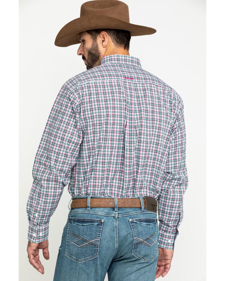 Ariat Men's Kermit Plaid Long Sleeve Western Shirt - Big , Multi, hi-res