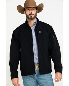 Ariat Men's Vernon 2.0 Softshell Jacket - Big & Tall , Black, hi-res