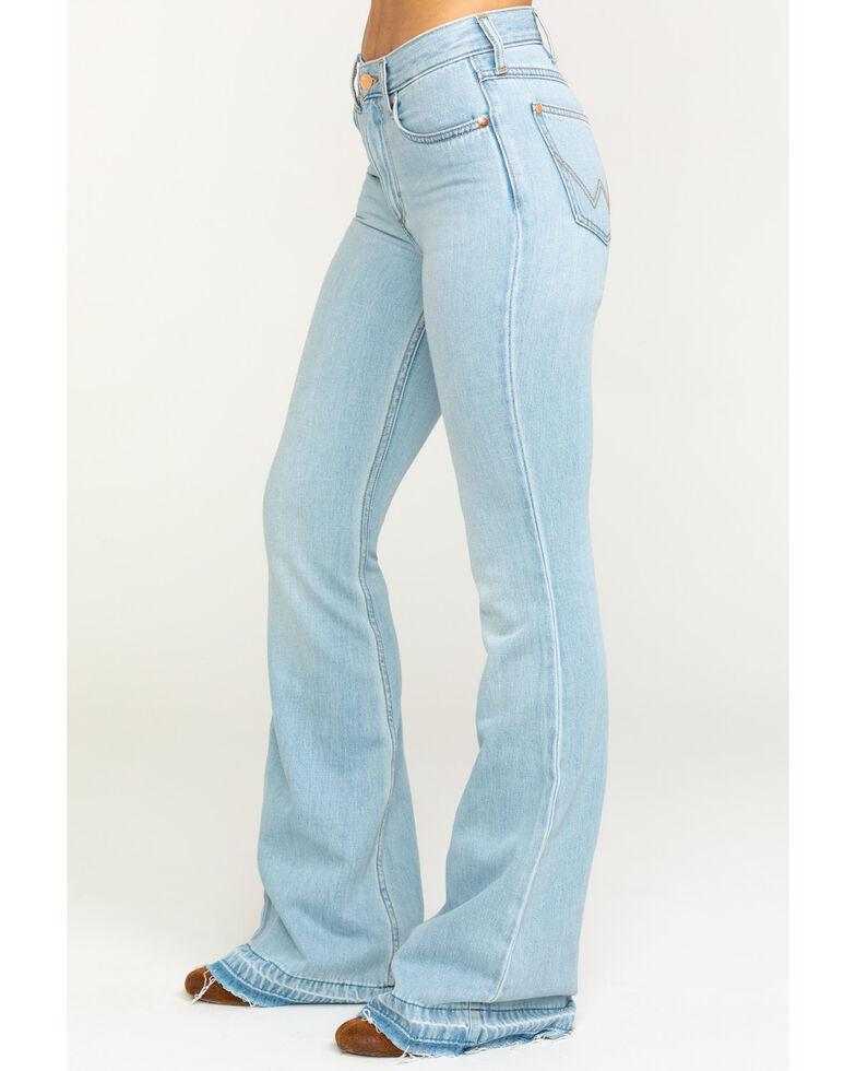 Wrangler Modern Women's Heritage Tencel Flare Jeans, Light Blue, hi-res