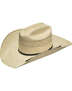 Twister Men's Ivory 20X Shantung Added Money Hat , Ivory, hi-res