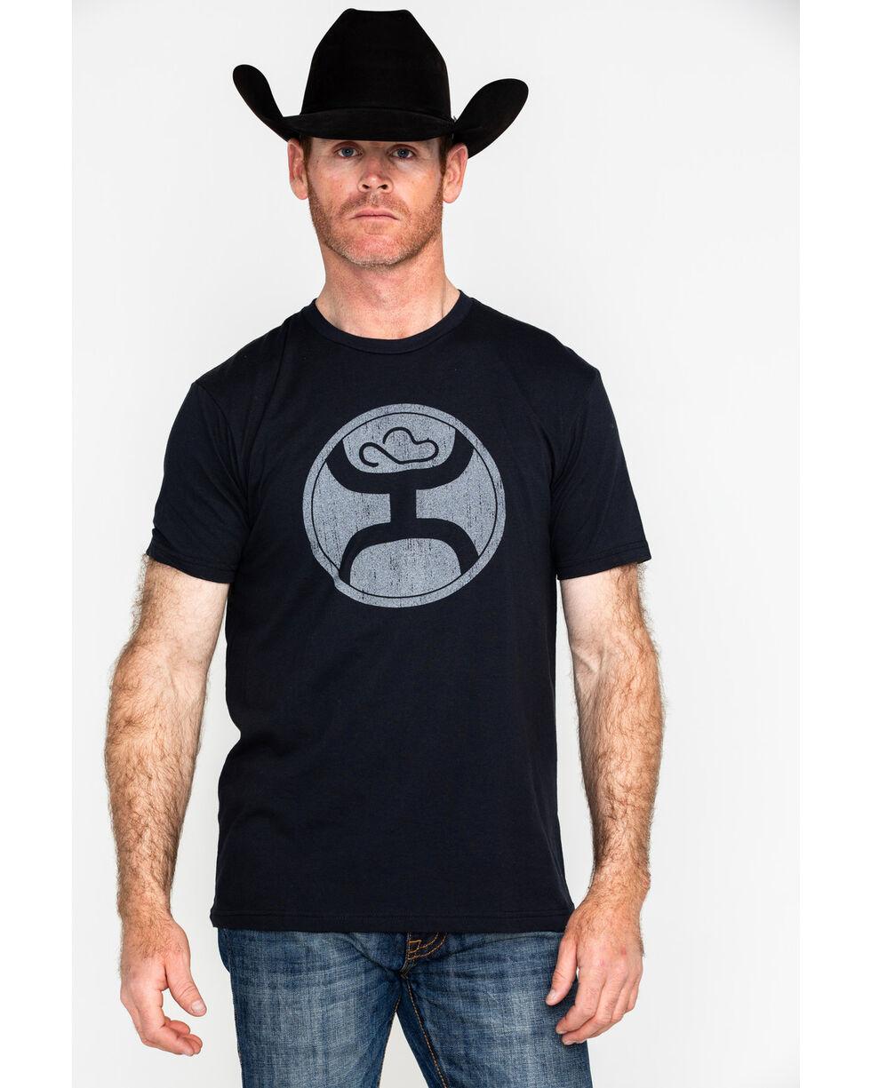 HOOey Men's 2.0 Short Sleeve Logo T-Shirt , Black, hi-res