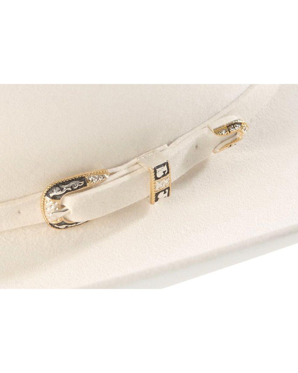Larry Mahan 10X Oro Blanco Felt Cowboy Hat, White, hi-res