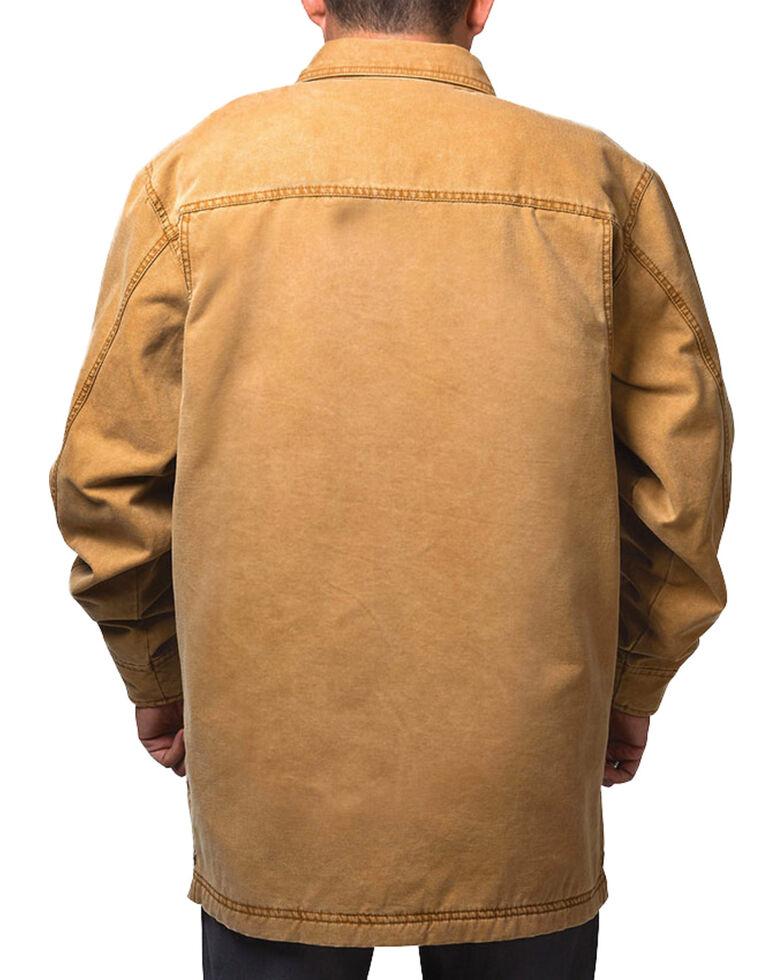 Walls Men's Bandera Vintage Duck Shirt Jacket - Big and Tall , Pecan, hi-res