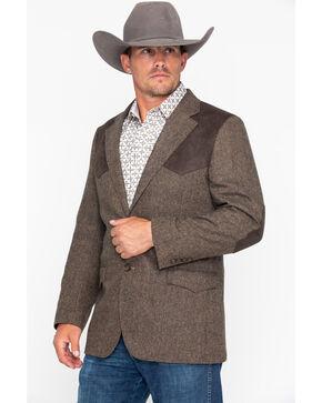 Cody James® Men's Wool Blazer, Brown, hi-res