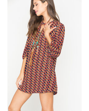 Miss Me Women's Sun Dance Dress, Multi, hi-res