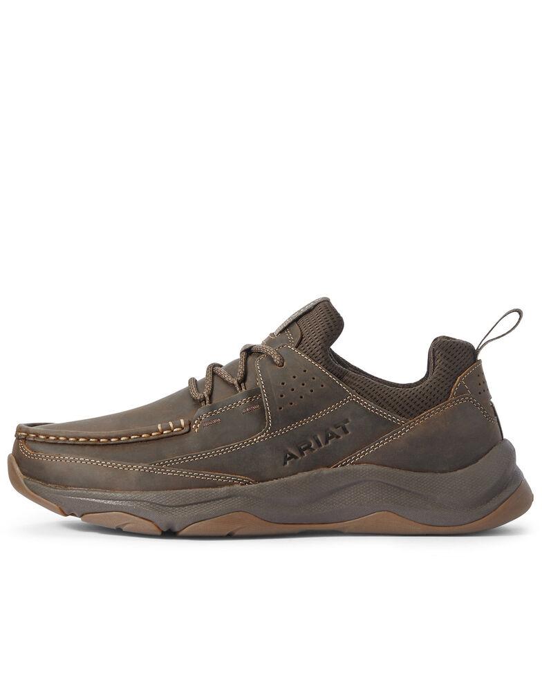 Ariat Men's Dozier Lace-Up Boots - Moc Toe, Brown, hi-res