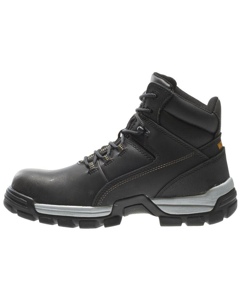 "Wolverine Men's Tarmac 6"" Comp Toe WPF Work Boots, Black, hi-res"