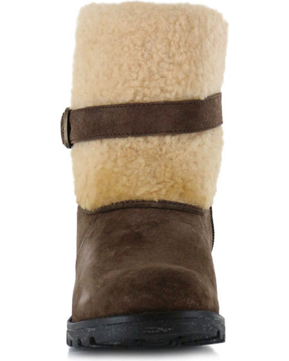 UGG® Women's Blayre II Water Resistant Casual Boots, Dark Brown, hi-res