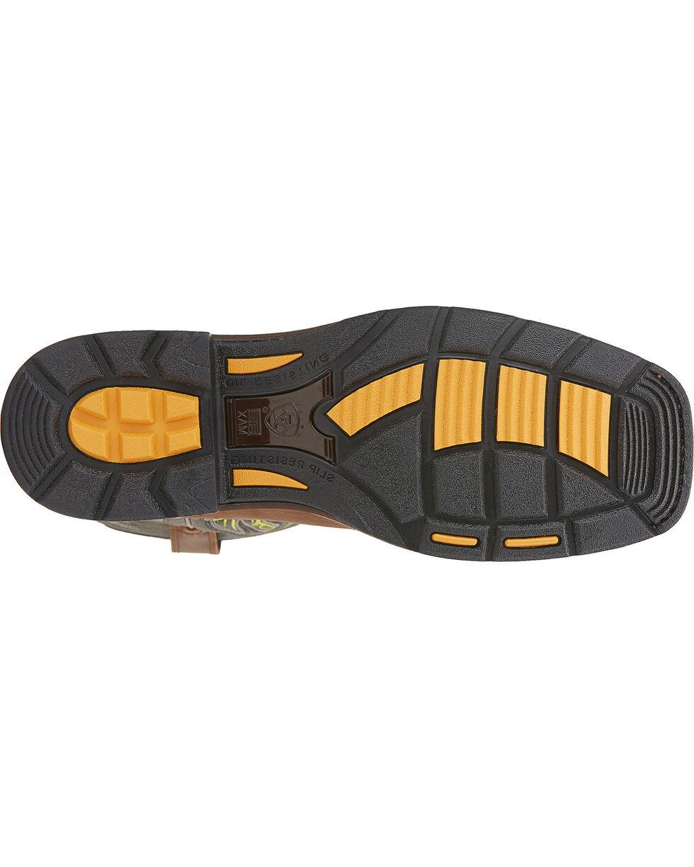 Ariat Men's Western Workhog Mesteno WP CT Work Boots, Rust, hi-res