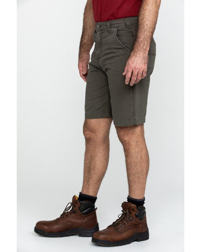 "Carhartt Men's Charcoal 10"" Rugged Flex Rigby Work Shorts , Charcoal, hi-res"