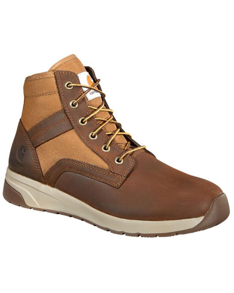Carhartt Men's Brown Lightweight Work Boots - Nano Composite Toe, Brown, hi-res