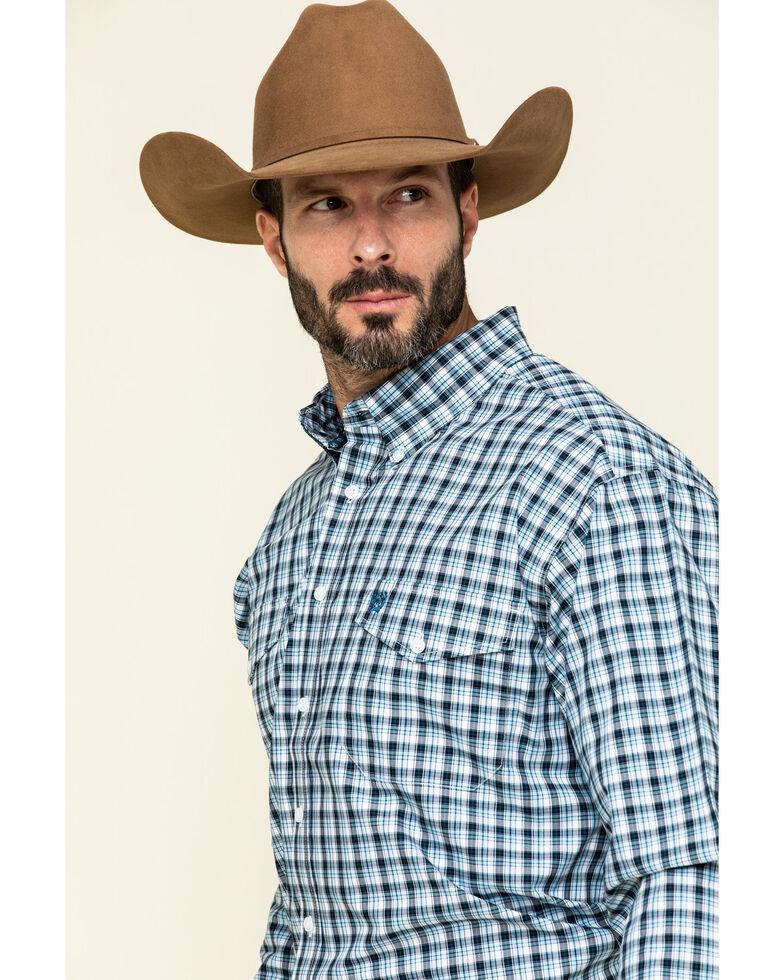 Cinch Men's Multi Large Plaid Weave Long Sleeve Western Shirt , Multi, hi-res