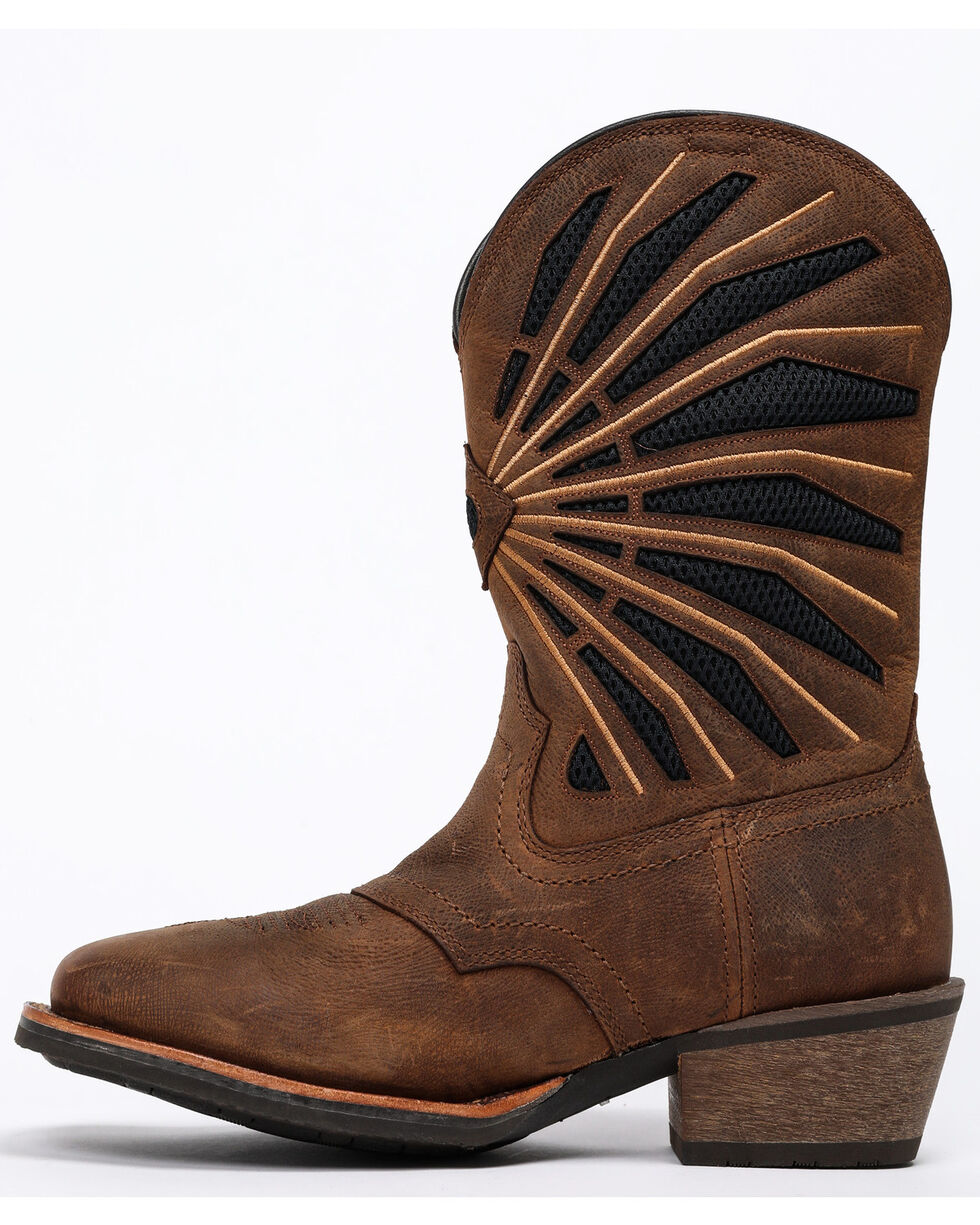 Cody James Men's Xero Cool Western Boots - Wide Square Toe, Brown, hi-res