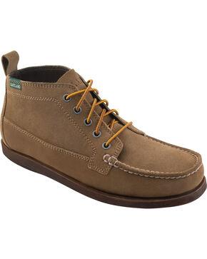 Eastland Men's Natural Seneca Camp Moc Chukka Boots, Tan, hi-res