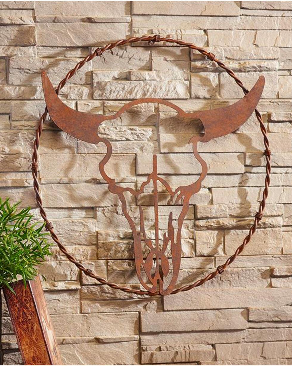 Giftcraft Metal Bull Head Design Wall Decor , No Color, hi-res