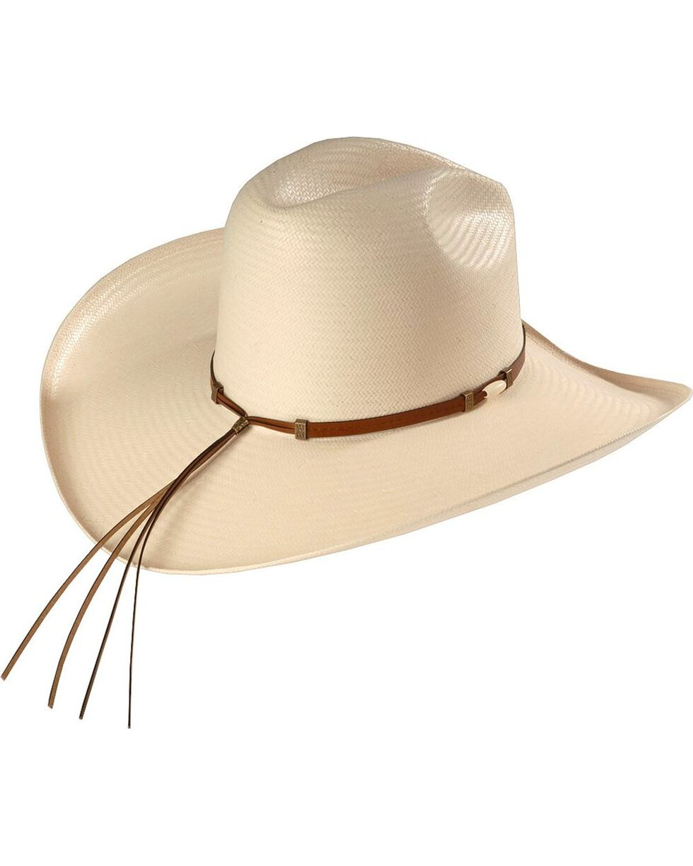 Resistol 6X Cisco Straw Hat, Natural, hi-res
