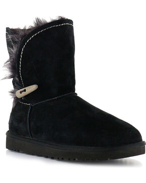 UGG Women's Meadow Short Boots, Black, hi-res