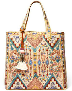 Johnny Was Women's Nala Everyday Tote, Beige/khaki, hi-res