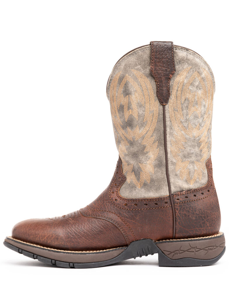 Cody James Men's Tychee More Tawny Western Boots - Wide Square Toe, Brown, hi-res